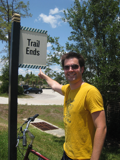 44 Miles on a Bike!