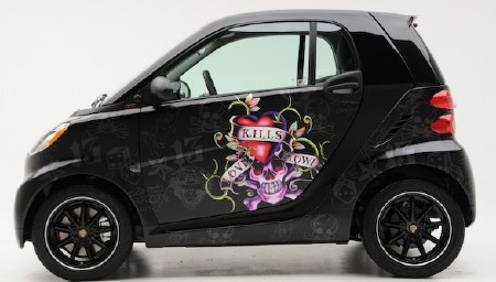 Smart Car:  Ed Hardy Package