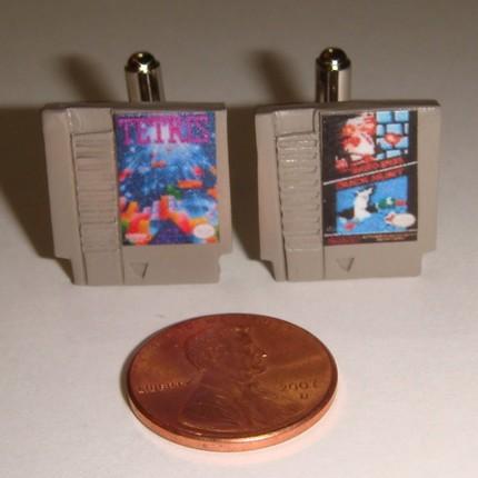 Nintendo NES Cufflinks!!!