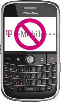 Blackberry Bold Update:  No T-Mobile:-(