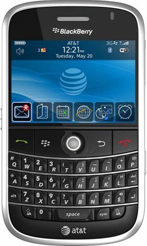 Blackberry Bold Released on the web for AT&T